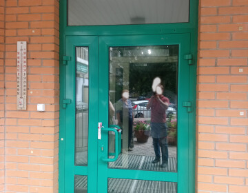 Двері алюмінієві