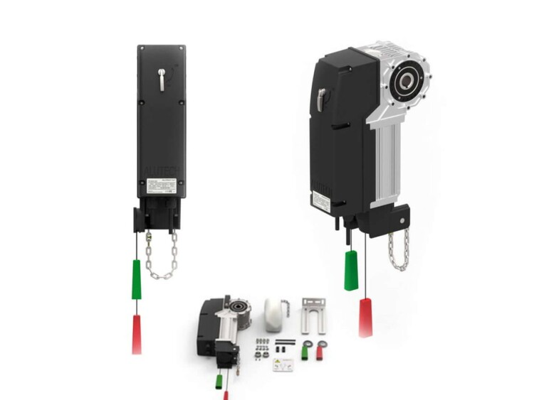 Automation for industrial doors Alutech
