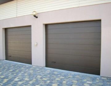 Garage sectional doors